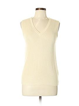 Giorgio Armani Classico Silk Pullover Sweater Size 46 (IT)