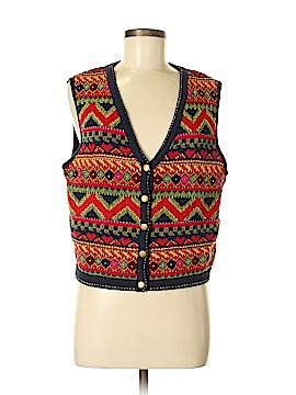 Lizsport Sweater Vest Size M