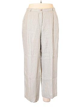 Armani Collezioni Linen Pants Size 16