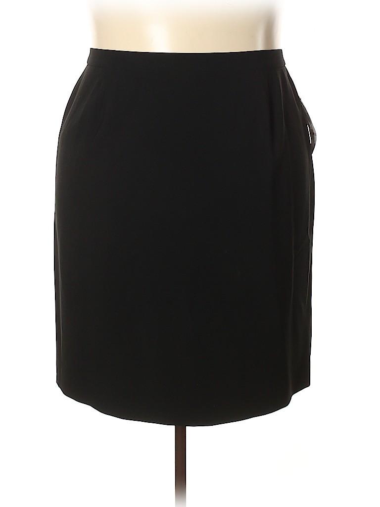 Jones New York Collection Women Casual Skirt Size 22 (Plus)