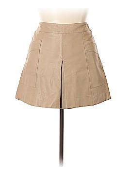 Banana Republic Leather Skirt Size 14