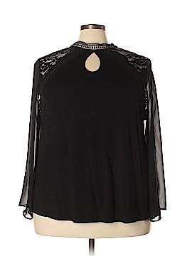 Nanette Lepore Long Sleeve Blouse Size 3X (Plus)