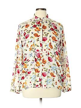 Trafaluc by Zara Long Sleeve Button-Down Shirt Size XL