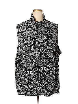 Woman Within Vest Size 5X (Plus)