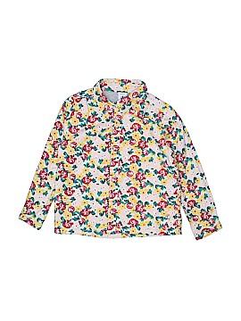 Petit Bateau Long Sleeve Button-Down Shirt Size 3T