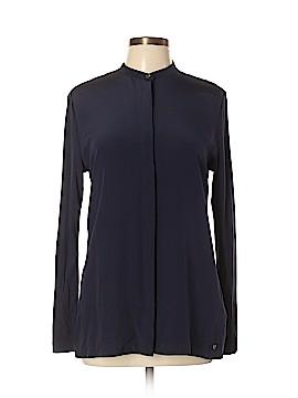 Woolrich Long Sleeve Silk Top Size L