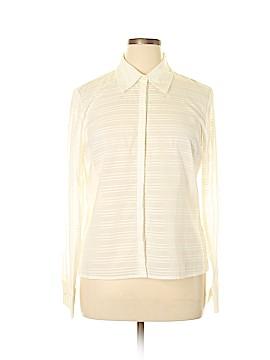 Geoffrey Beene Sport Long Sleeve Button-Down Shirt Size 16