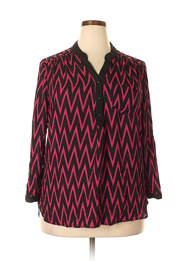 Tacera Women 3/4 Sleeve Blouse Size XL