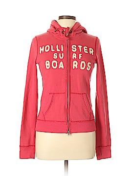 Hollister Zip Up Hoodie Size M