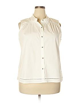 Cato Sleeveless Button-Down Shirt Size 18 - 20 (Plus)