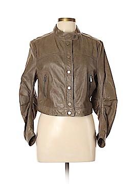 BCBGMAXAZRIA Leather Jacket Size L
