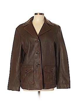 Relativity Leather Jacket Size L