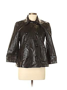 Lauren Jeans Co. Faux Leather Jacket Size M