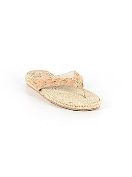 Donald J Pliner Flip Flops Size 6
