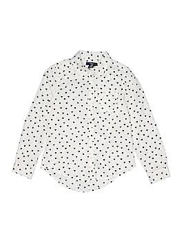 Gap Kids Outlet Long Sleeve Button-Down Shirt Size 8 - 9