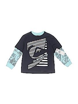 Quiksilver Long Sleeve T-Shirt Size 3T
