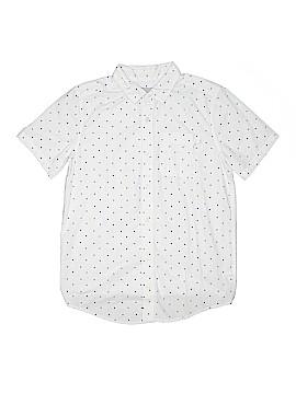 The Children's Place Short Sleeve Button-Down Shirt Size 16