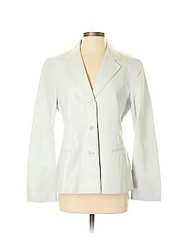 Lafayette 148 New York Leather Jacket Size 8