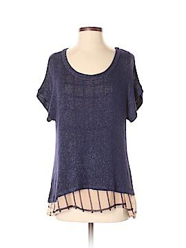 Olivia Moon Short Sleeve Blouse Size S