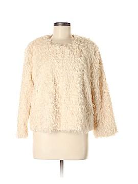 CAbi Faux Fur Jacket Size M