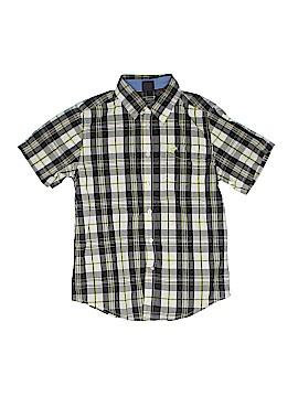 Wrangler Jeans Co Short Sleeve Button-Down Shirt Size 10-12