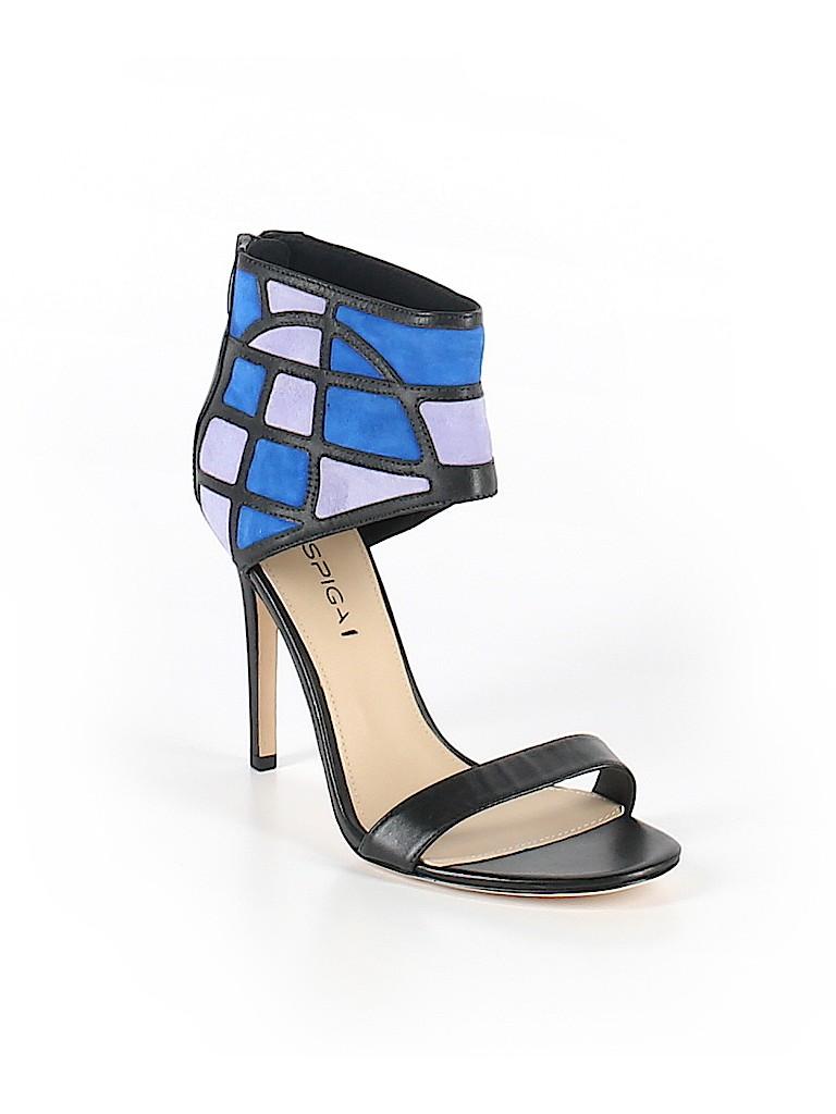 5ca02d79c1 Enzo Angiolini Color Block Black Heels Size 8 - 87% off   thredUP
