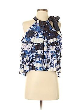 Cynthia Rowley Sleeveless Silk Top Size S
