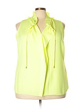 Tahari Sleeveless Blouse Size 2X (Plus)