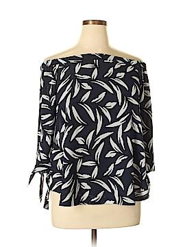 Ann Taylor Factory 3/4 Sleeve Blouse Size L
