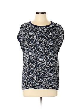 Comptoir des Cotonniers Short Sleeve Blouse Size L