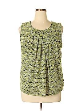 Liz Claiborne Sleeveless Blouse Size XL