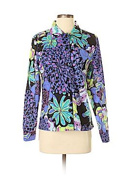Erin Long Sleeve Button-Down Shirt Size S