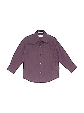 Calvin Klein Long Sleeve Button-Down Shirt Size 4T