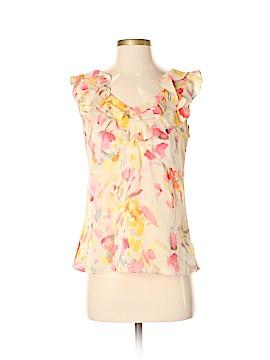 AK Anne Klein Short Sleeve Blouse Size S