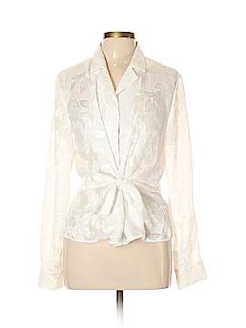 Jones New York Long Sleeve Blouse Size L
