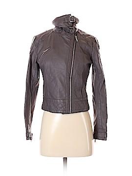 JouJou Faux Leather Jacket Size 14 - 16
