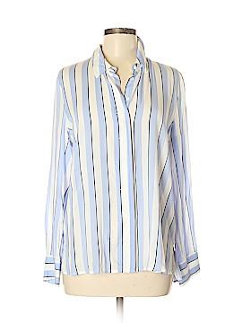 Mango Long Sleeve Button-Down Shirt Size 8
