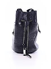 Halston Heritage Leather Bucket Bag