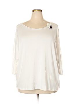 Lane Bryant Outlet 3/4 Sleeve T-Shirt Size 22 - 24 Plus (Plus)