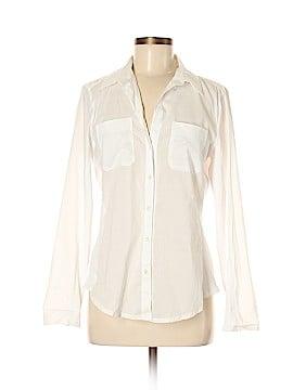 Sandra Ingrish Long Sleeve Button-Down Shirt Size M