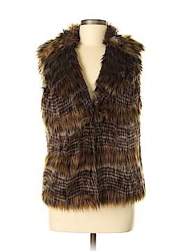 Antonio Melani Faux Fur Vest Size M