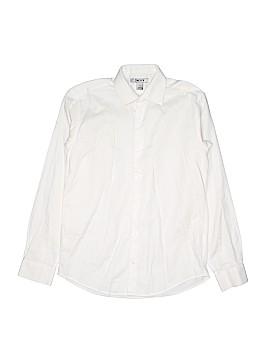 DKNY Long Sleeve Button-Down Shirt Size 16