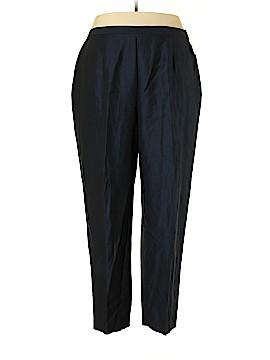 Dana Buchman Linen Pants Size 24 (Plus)