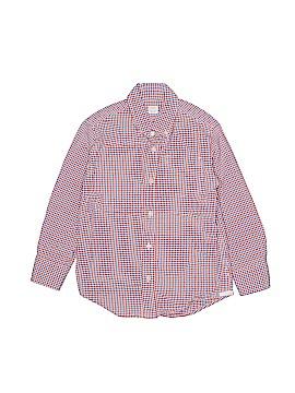 Crewcuts Long Sleeve Button-Down Shirt Size 5