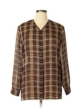 Josephine Chaus Long Sleeve Blouse Size 14