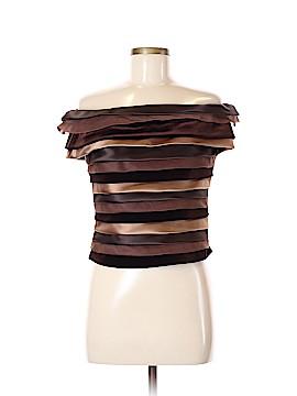 Chetta B Short Sleeve Blouse Size 8