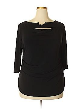 PREMISE 3/4 Sleeve Top Size 1X (Plus)