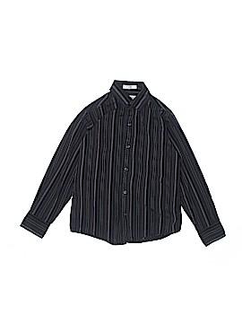 Calvin Klein Long Sleeve Button-Down Shirt Size 10