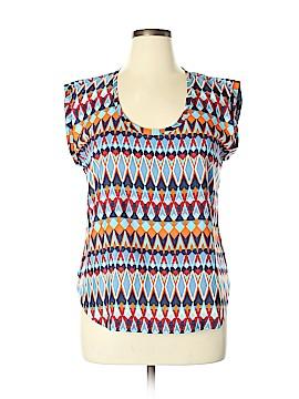 J. Crew Factory Store Short Sleeve Blouse Size 14