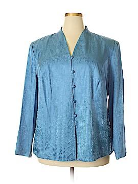 Adrianna Papell Silk Blazer Size 22w (Plus)